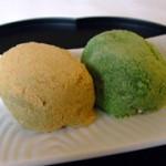 平野屋製菓さんのうぐいす餅