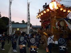 天白神社祭典